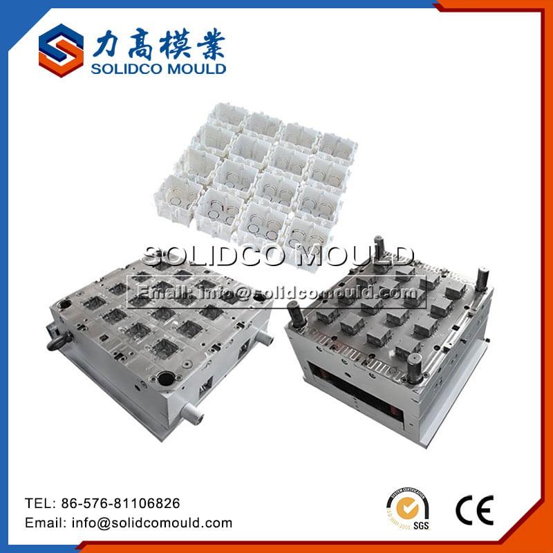 Coffret électrique carré