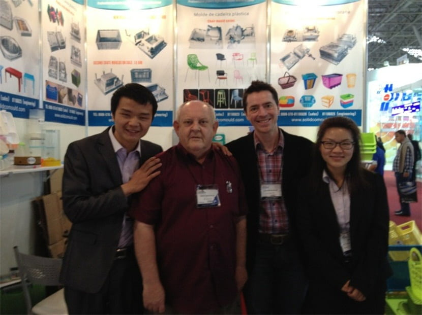 In May 2015,SOLIDCO MOULD attended the FEIPLAS in Sao Paolo,Brazil.