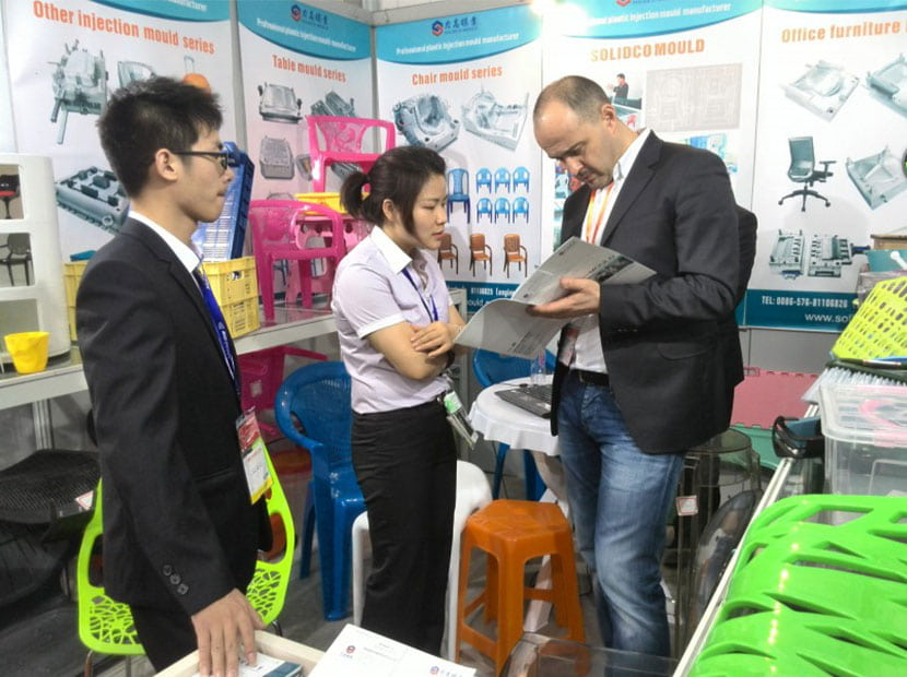 In April 2014,SOLIDCO MOULD attended the CHINAPLAS  in ShangHai,China
